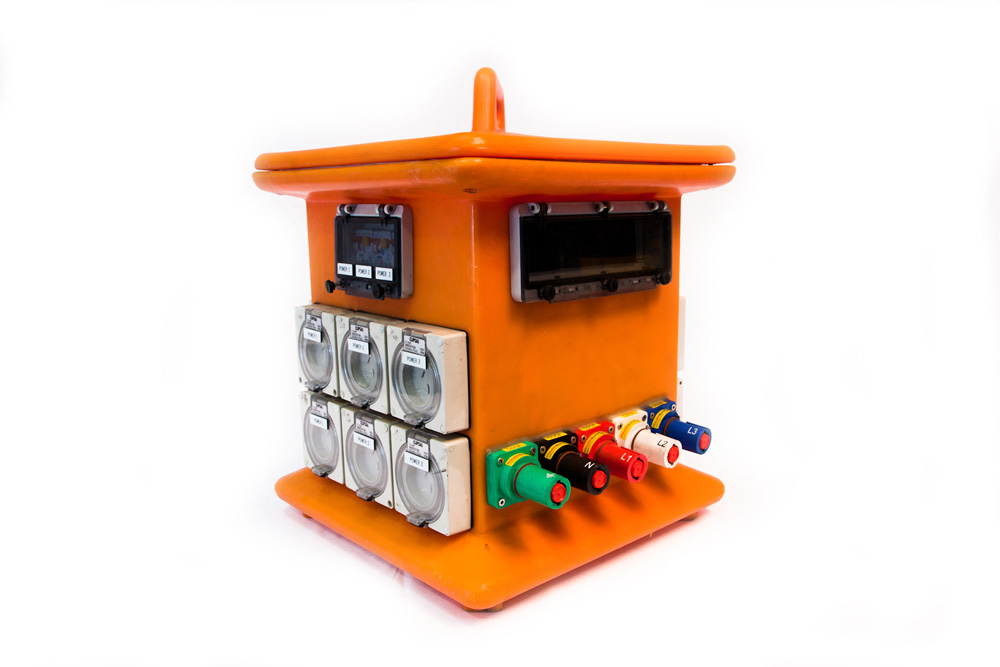 400 amp powerlock distribution board orange – 3 phase & single phase