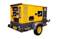 QAS 20P on trailer – multi voltage