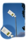 Solar path light rectangle